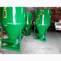 Змішувач сипучих кормів, міксер для сухих домішок 1200 кг, M-ROL, Польського виробництва