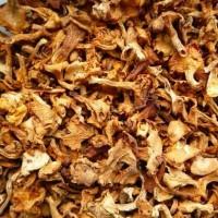 Продам сушеные грибы лисички от 200 г, гриб лисичка