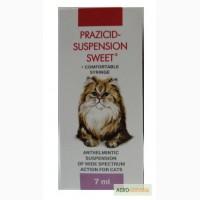 Празицид -суспензия сладкая для кошек (7 мл. )27грн