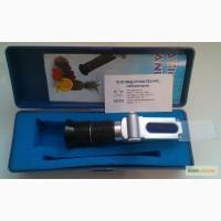 Рефрактометр ZGRB-90ATC. С тремя шкалами 58-90% Brix, 38-43 Be, 12-27% water