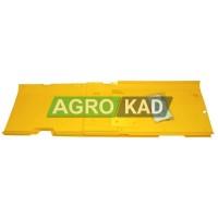 Пластиковая защита днища жатки Jonh Deere 925 (комплект с заклепками) (7, 6m) (AH144176)