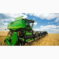 Уборка урожая комбайнами John Deere, CLAAS, NEW HOLLAND