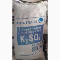 Сульфат калия, 25 кг K2O-50-52%. S-18%, 650 грн