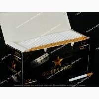 Сигаретные гильзы, cигаретні гільзи KORONA, GOLDEN STAR SLIM 6.5 мм