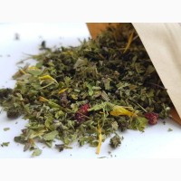 Земляничный чай (травяной черный чай из земляники)