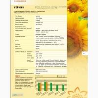 Посівний матеріал соняшника Сержан м.Нові Сад (Сербія)