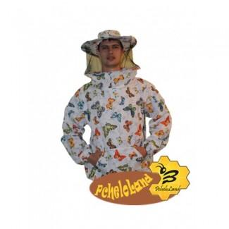 Куртка пчеловода ситцевая р.46-48/ р.50-52/ р.54-56/ р.58-60/ р62-66