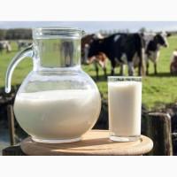 Молоко коровье цельное от населения