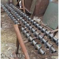 Продается шнековая спираль (шнек) диаметр 90мм (под трубу 108 мм)