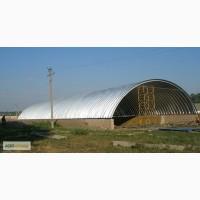 Производим и монтируем бескаркасные ангары, склады и перекрытия
