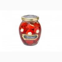 Перец Черри красный фаршированный сыром «Фета» 0, 35 л