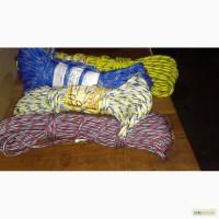 Шнур плетеный полипропиленовый. Диаметр 3 - 16 мм