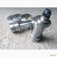 Вал ролика пресс гранулятора ГТ-520 (в комплекте с крышками)