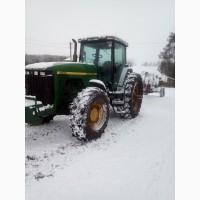 Услуги трактора Джон Дир