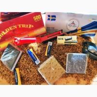 Акция ! Табак 1кг+1000гилз=560гр Табак для электро машинок и самокруток 1кг- 300гр