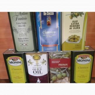 Оливковое масло в ассортименте.5л