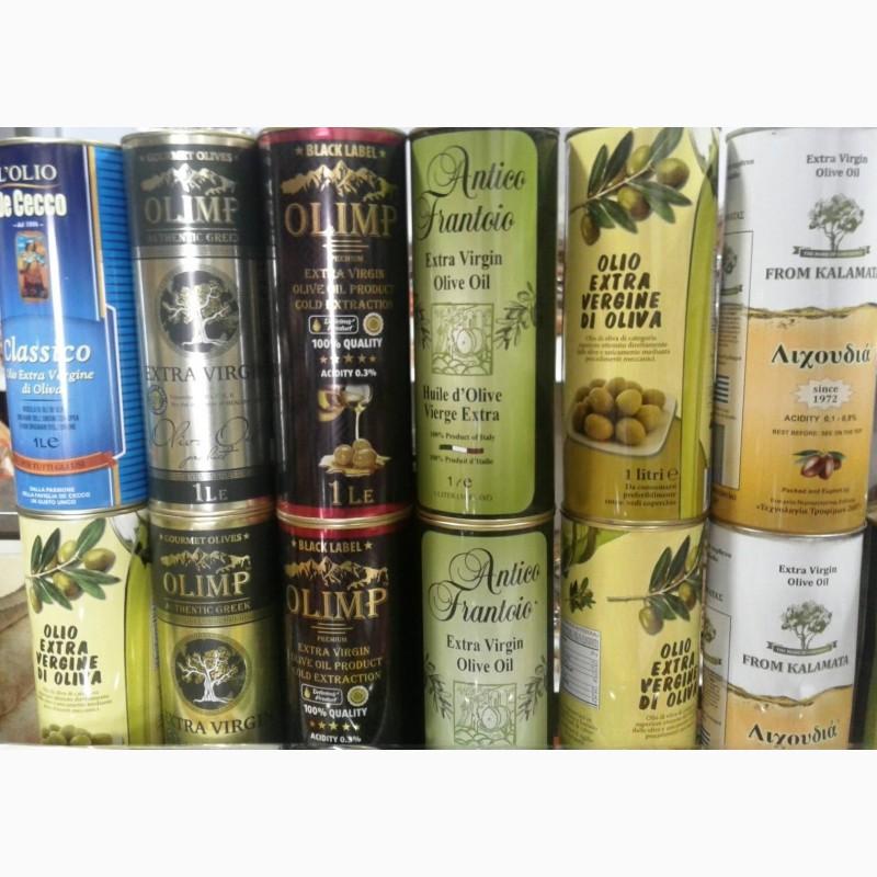 Фото 3. Оливковое масло в ассортименте.5л