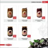 Продаём маслины, оливки и соуса!Крупный и мелкий опт