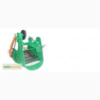 Картофелекопатель механизированный КМ-5 для тяжелых мотоблоков привод справа Булаточка