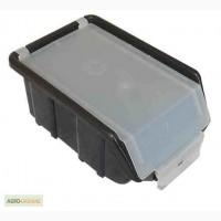 Пластмассовый ящик для метизов с крышкой 175 х 110 х 75