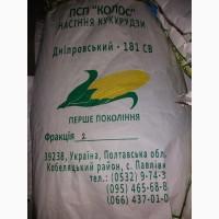 Продам гібрид кукурузи ДНІПРОВСЬКИЙ 181 СВ