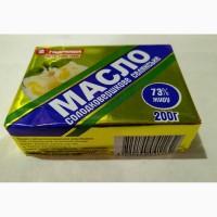 Натуральное масло сливочное ТМ Гаврюша 200г в ассортименте