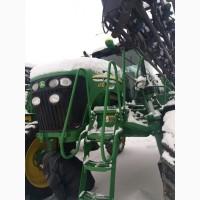 Услуги по агрохимической обработке полей, внесение удобрений опрыскивателем джондир 4730
