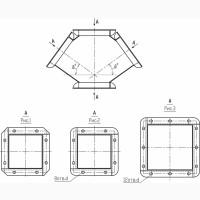 Ввод симметричный квадратный СВС 300 наличие